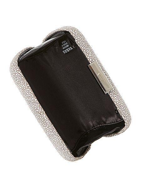 Gabrielle box clutch bag