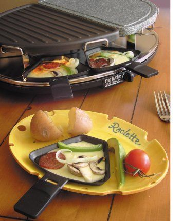 73 best images about raclette grill on pinterest. Black Bedroom Furniture Sets. Home Design Ideas