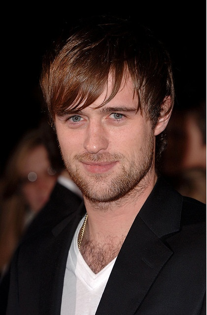 Jonas Armstrong :) love a man with a little chest hair
