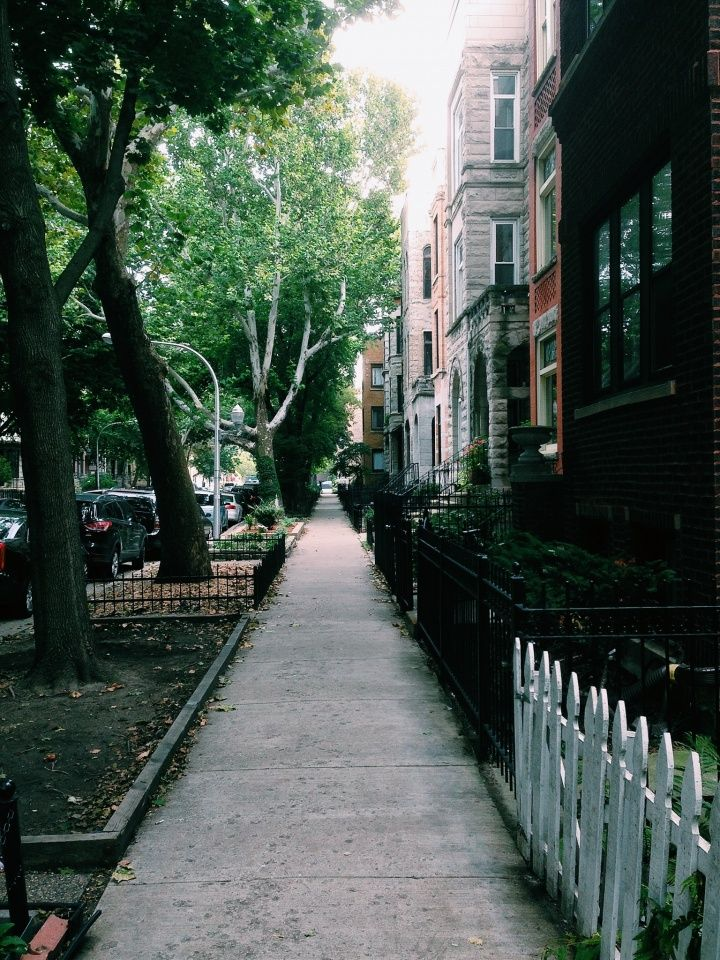 A nice stroll in Lakeview #Chicago