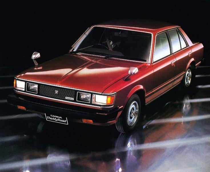 Toyota Carina DX My Road 81 4-door Sedan (A40) '1981