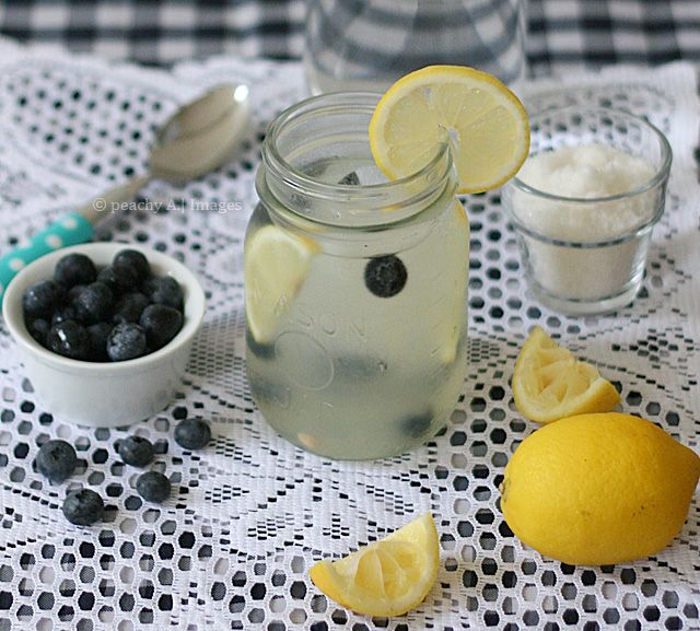 blueberry lemonade ..need to experiment and try pink lemonade with the ...