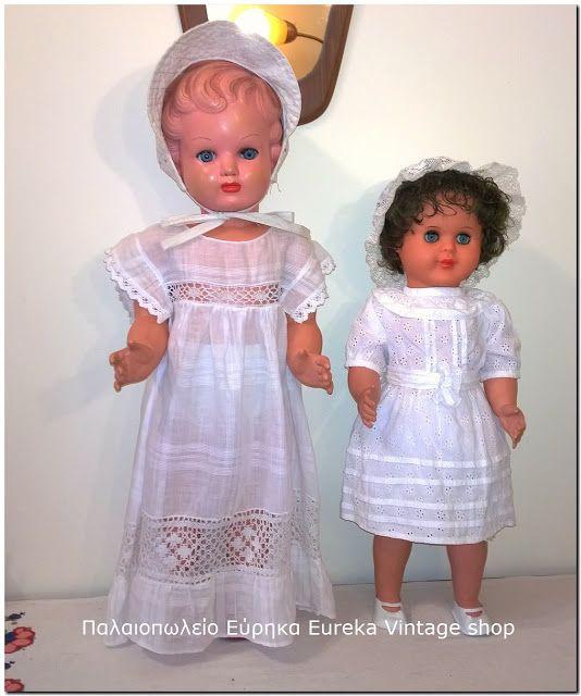 2 κλασικές γερμανικές κούκλες της δεκαετίας 1950's – 1960's