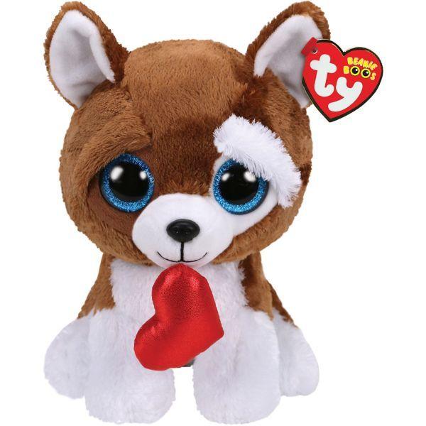 Smooches Beanie Boo Dog Plush 5 1 2in X 13in Beanie Boo Dogs