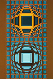Museum 2 by Victor Vasarely