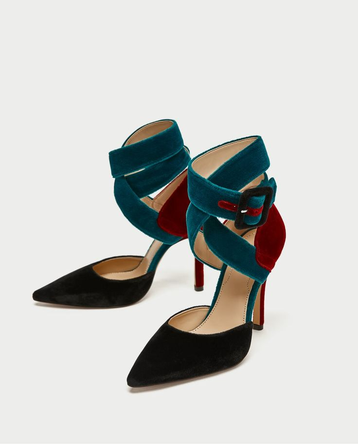 TIED HIGH HEEL D'ORSAY SHOES-High-heels-SHOES-WOMAN-SALE | ZARA United States
