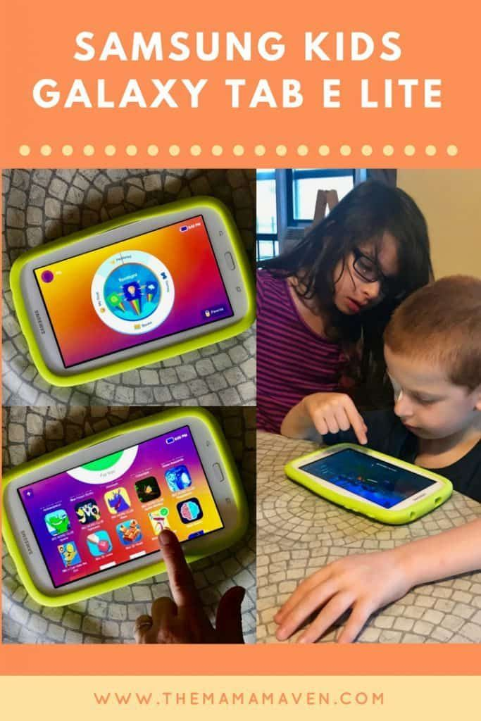 Samsung Kids Galaxy Tab E Lite Tablet Review: Keep the Summer Slide at Bay