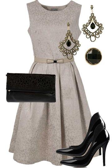 Embossed Elegance Outfit includes Gitane, Adorne, and RMK - Birdsnest Online Shop