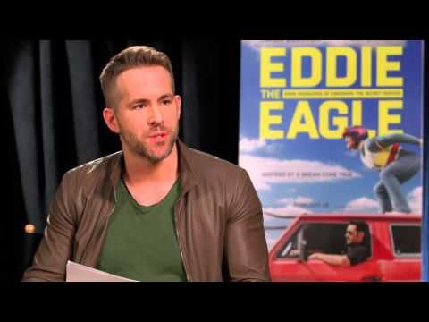 Watch Ryan Reynolds Crash Hugh Jackman's 'Eddie the Eagle' Press Junket Interview - Closer Weekly