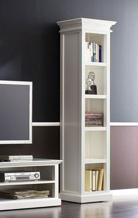 Tall Narrow Bookcase - £514.00 - Hicks and Hicks