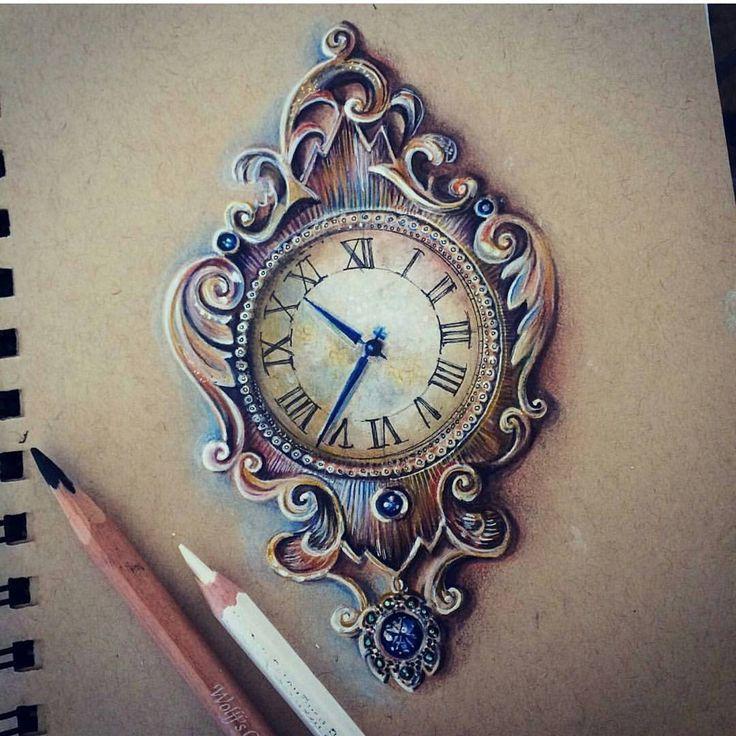 Taschenuhr bleistiftzeichnung  469 besten grundlagen Bilder auf Pinterest | Tattoo-Designs ...