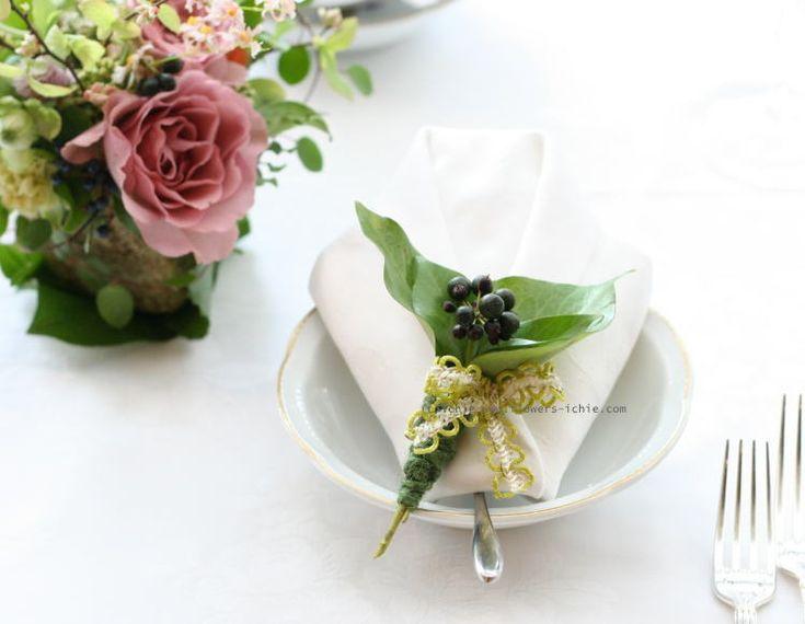 光 ラビュットボワゼ様の装花 : 一会 ウエディングの花