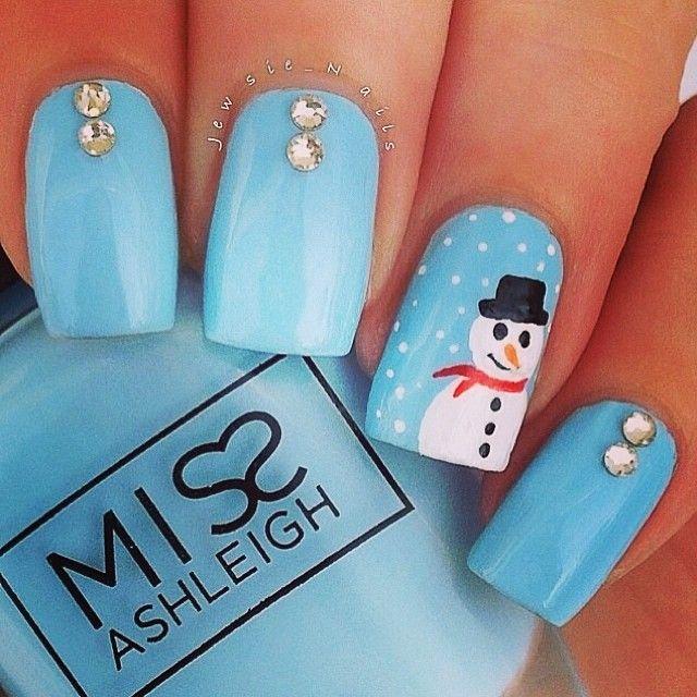 Snowman Nail Art Tutorial: Best 25+ Snowman Nail Art Ideas On Pinterest