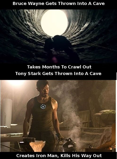 win for Iron Man