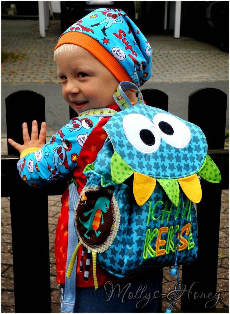 Mollys-Honey: Kindergarten Rucksack...