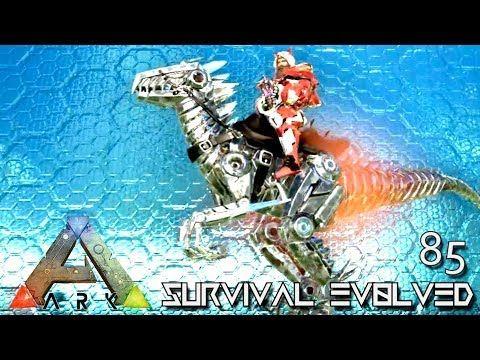 awesome ARK: SURVIVAL EVOLVED - NEW ALPHA TEK RAPTOR ...