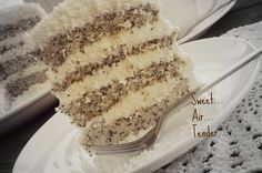 "...Мир без границ:: Маковый тортик ""Царица Эстер"")"
