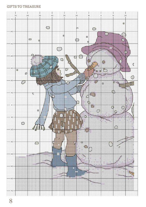 серия Belle & Boo | схемы вышивки крестом