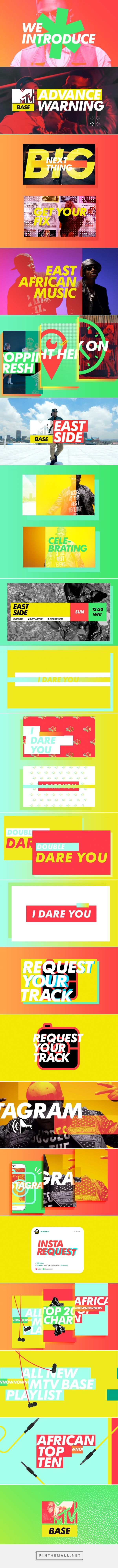 MTV Base Imaging Update on Behance... - a grouped images picture - Pin Them All
