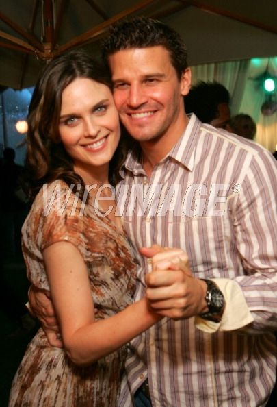 Emily Deschanel and David Boreanaz...