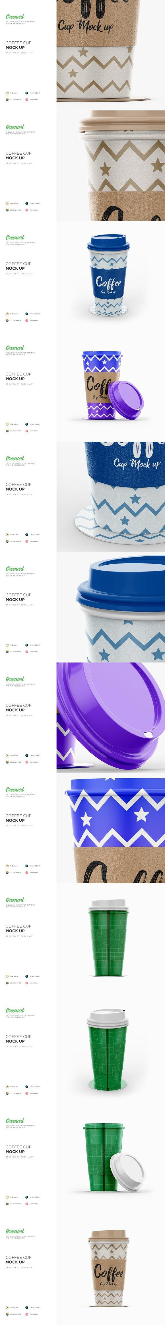 Coffee Cup 3 PSD Mockup Coffee cups, Mockup, Coffee design