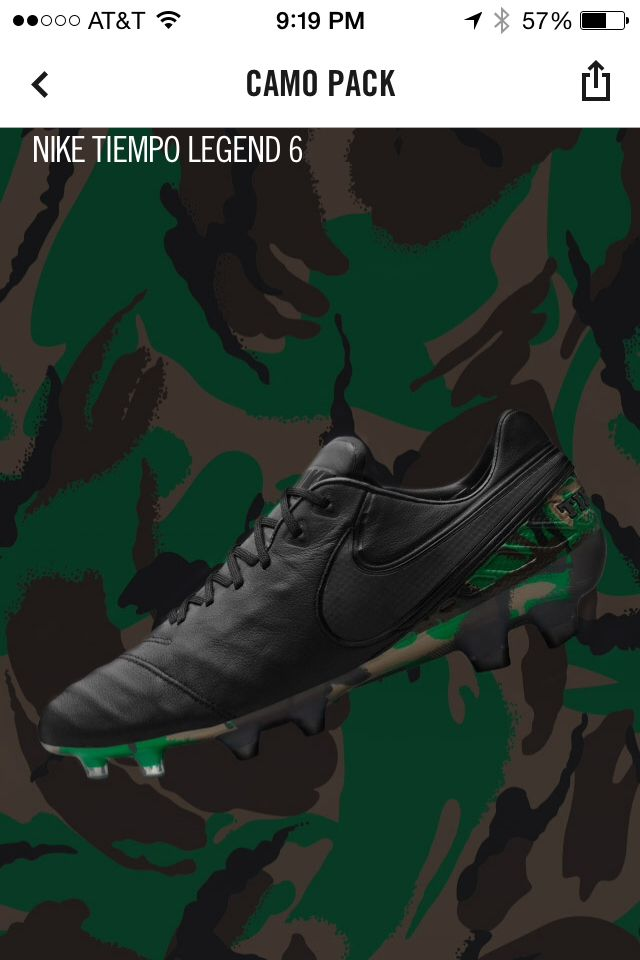 Nike Tiempo legend 6 camo pack Follow me for early access to these cleats