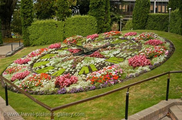 Floral Clock, been there, doe that.
