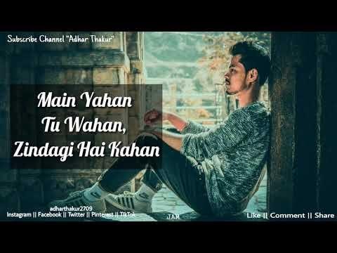 Main Yahan Tu Wahan Amitabh Bachchan Alka Yagnik Sameer Aadesh Shrivastava Baghban Youtube