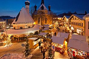 Prien am Chiemsee - Jarmark Bożonarodzeniowy na Fraueninsel
