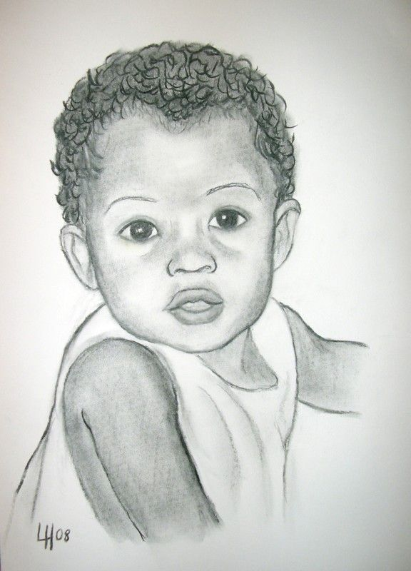 Dessins portrait b b recherche google dessiner soon pinterest portrait and search - Coloriage de bebe ...