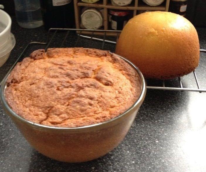 Quick & Easy Pyrex Bowl Cake ♥ Come check out our pyrex bowls on www. etsy.com/shop/LempTreasures....