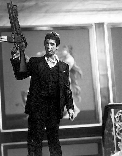 Al Pacino scarf ace