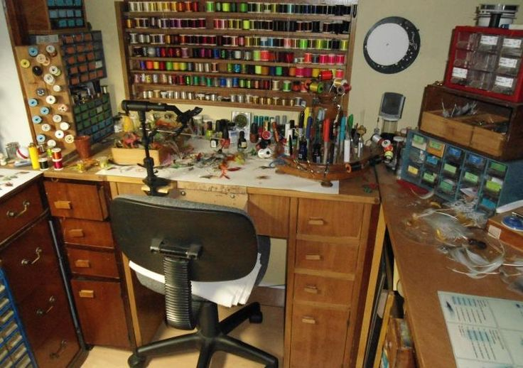 9 Best Images About Fly Tying Desk On Pinterest