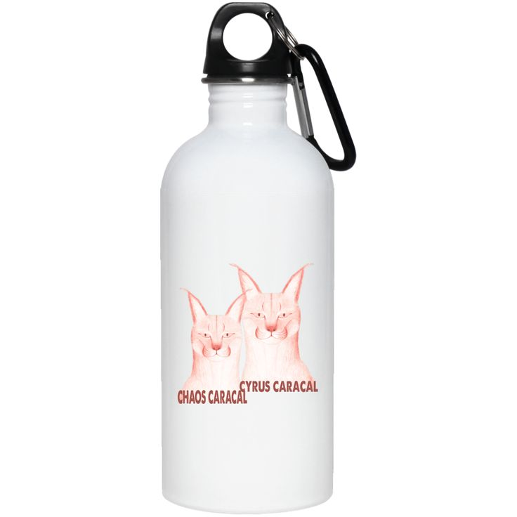 Just added this new Chaos Cyrus Carac... Check it out! http://catrescue.myshopify.com/products/chaos-cyrus-caracals-20-oz-stainless-steel-water-bottle?utm_campaign=social_autopilot&utm_source=pin&utm_medium=pin