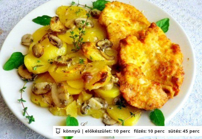 Nigella krumplis-gombás körete