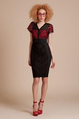 Rose Knit Button Front Dress | Silk&Burlap