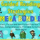 This bundle includes everything you need to teach guided reading strategies. This bundle is based on the  reading strategy animals:- Eagle Eye, Lip...