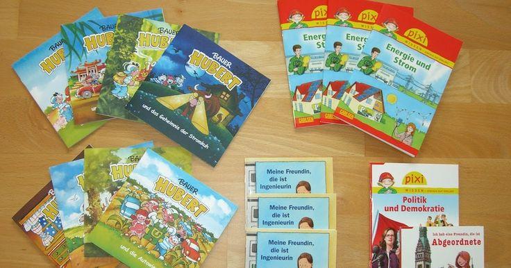 Linktipps zu kostenlosem Unterrichtsmaterial für Lehrer der Grundschule: Pixi Bücher