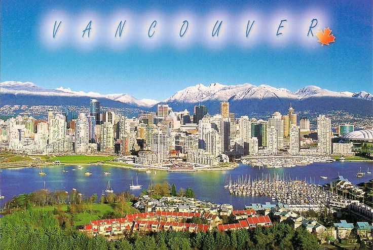 Travels with postcards around the world: VANCOUVER