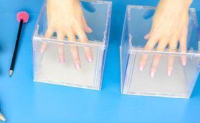 Organizador de caixa de CD