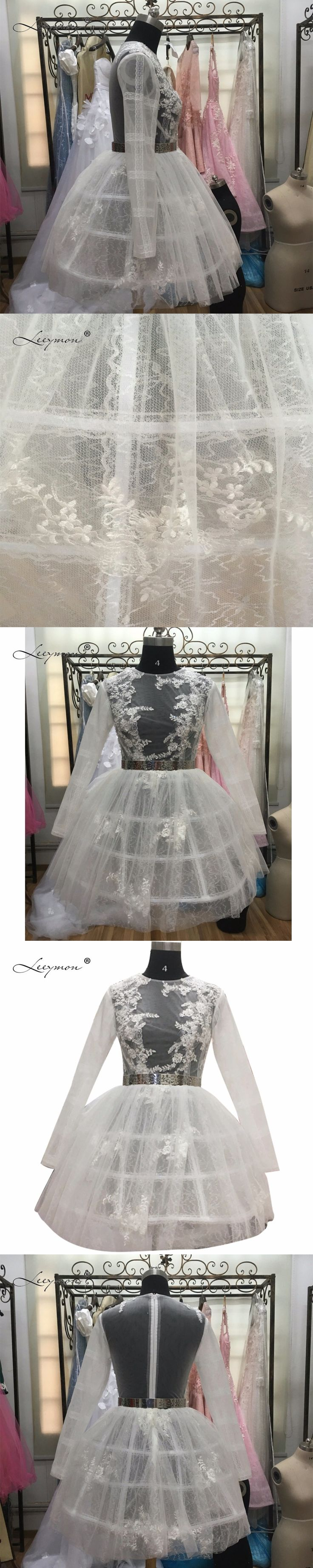 Long Sleeves Lace Cocktail Dress 2017 Sexy See Through Ball Gown Mini Short White Lace Cocktail Dress Vestidos De Coctel CC02