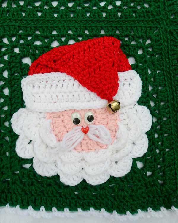 Christmas Santa Afghan Pattern - PB114. $4.99, via Etsy.