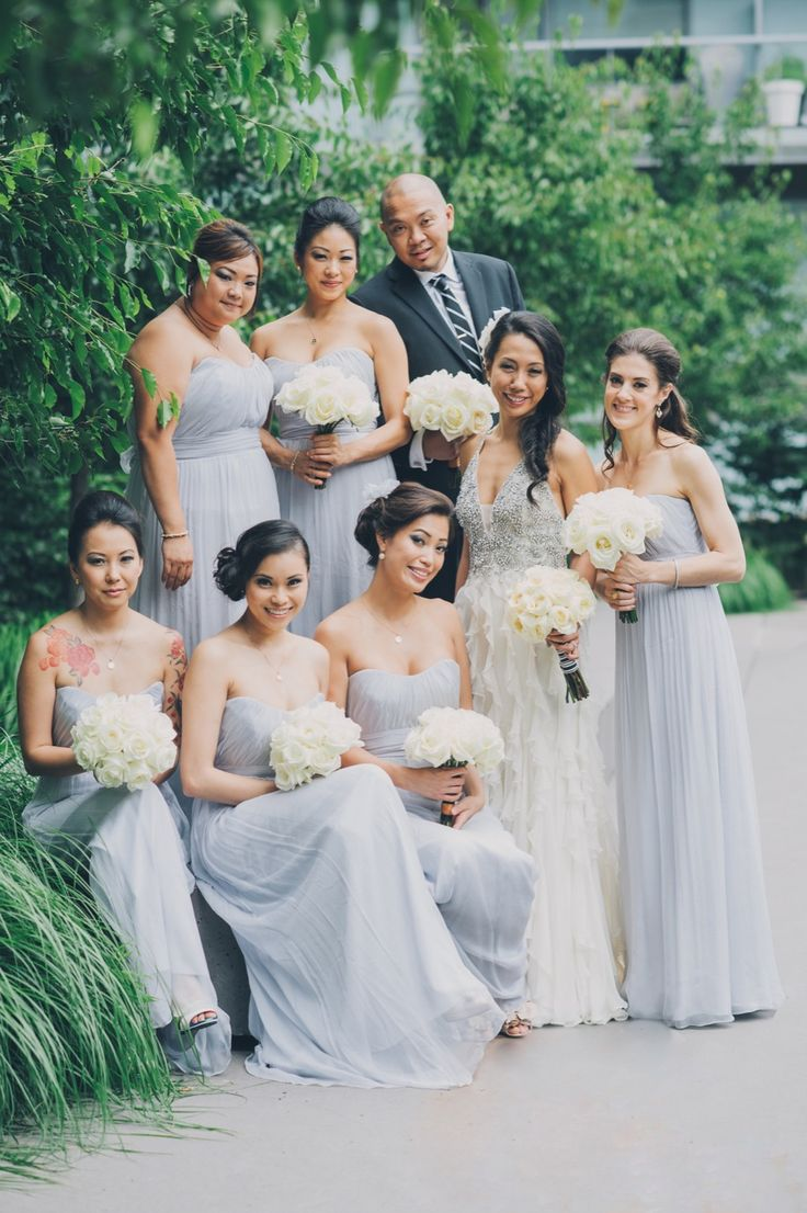 142 best gray wedding colors images on pinterest gray weddings modern toronto wedding from mango studios melissa andre events pastel bridesmaid dressesgray ombrellifo Images