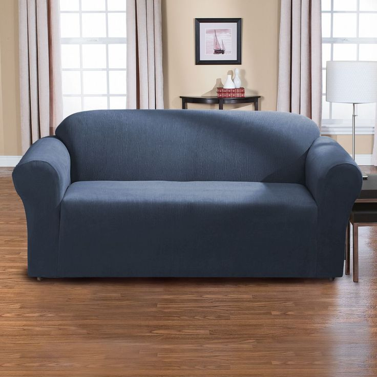 Sure Fit Dimples One Piece Stretch Sofa Slipcover