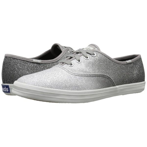 Keds Champion Ombre Glitter Women's Lace up casual Shoes (220 PLN) ❤ liked on Polyvore featuring shoes, laced shoes, flexible shoes, glitter shoes, keds footwear and lace up shoes