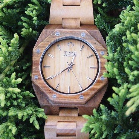 Ceas din lemn TimeWood Macis Unisex