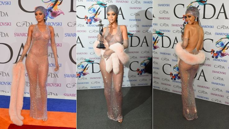 On Tuesday, Rihanna and her perfect ass channeled Josephine Baker at the CFDA awards. And, as these things tend to do, her exposed nearly nude body under her dress (Swarovski crystals held together with magical spider webs and confidence) has renewed yet another round of teen slut panic.