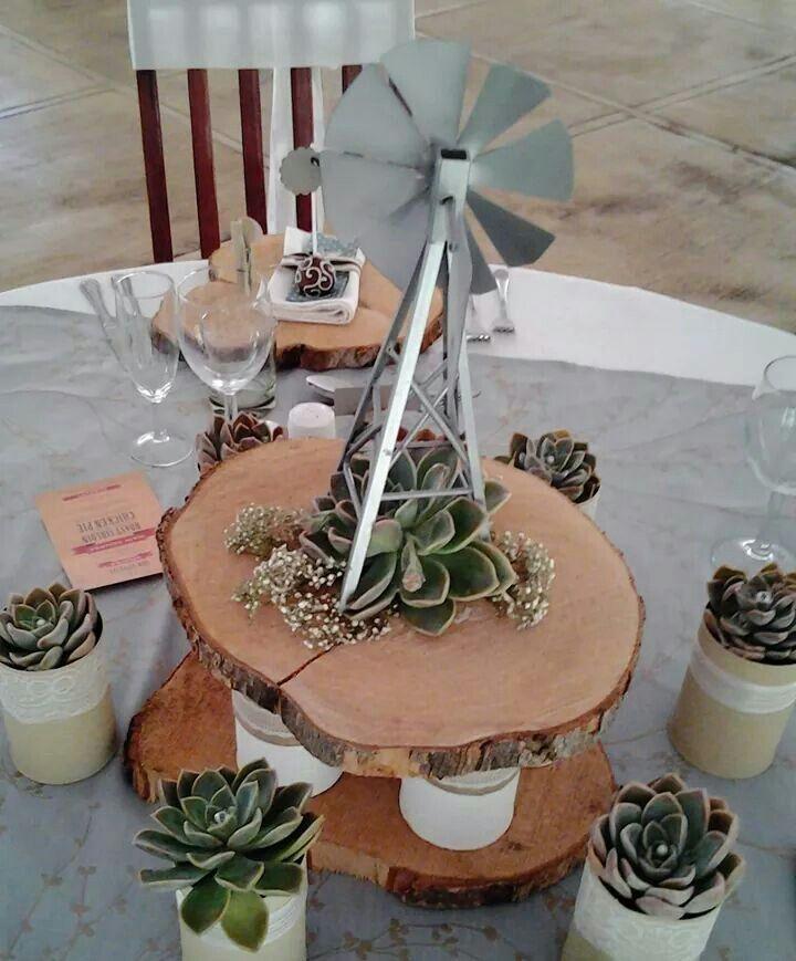 Windpomp tafel idee