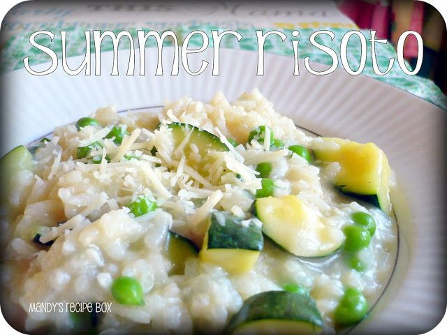 Mandy's Recipe Box: Summer Risoto