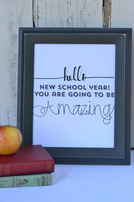 Free Back To School Printables - Everyday Party Magazine